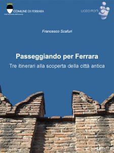 Copertina Passeggiando per Ferrara