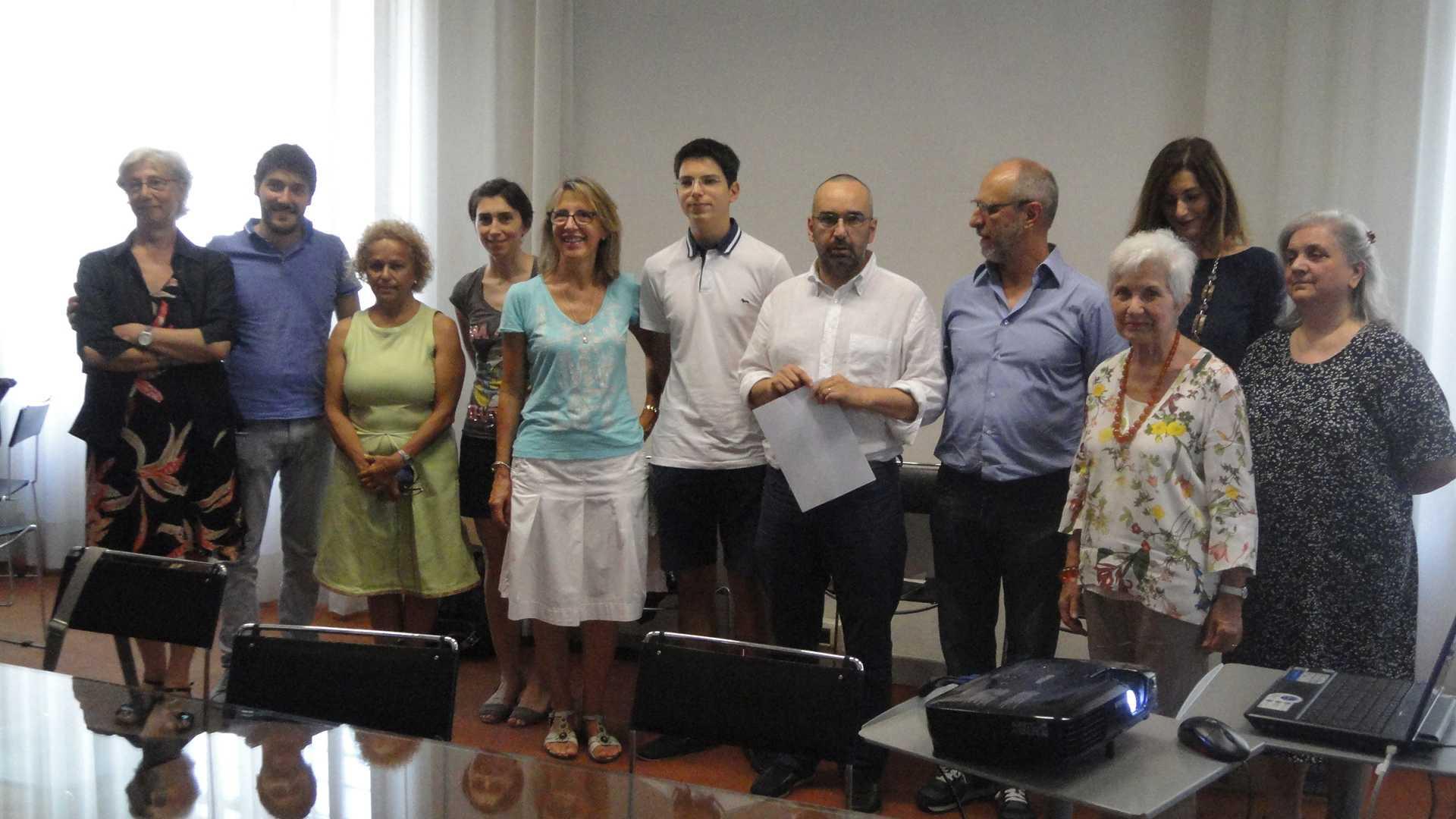 Foto conferenza stampa 21 luglio 2016
