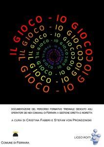 """Copertina dell'ebook """"Il gioco - io gioco"""""""