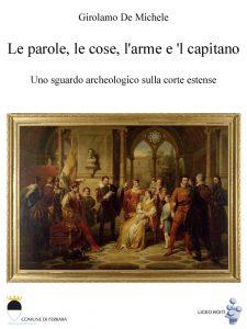 """Copertina dell'ebook """"Le parole, le cose, l'arme e 'l capitano""""."""