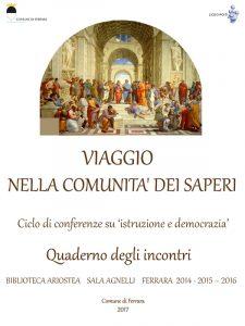 Copertina Viaggio nella Comunità dei Saperi