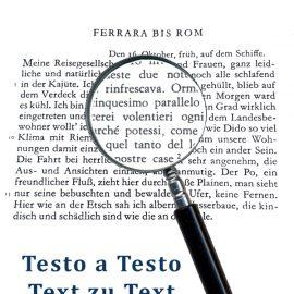 Testo a testo – Text zu text