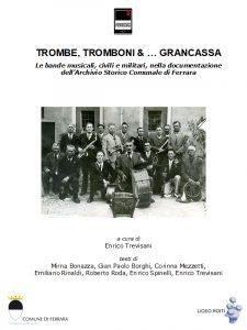 Copertina di Trombe, tromboni e grancassa